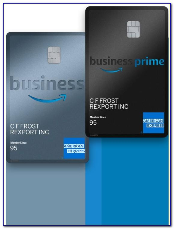 Amex Amazon Business Prime Card