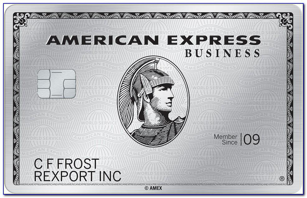 Amex Gold Business Metal Card