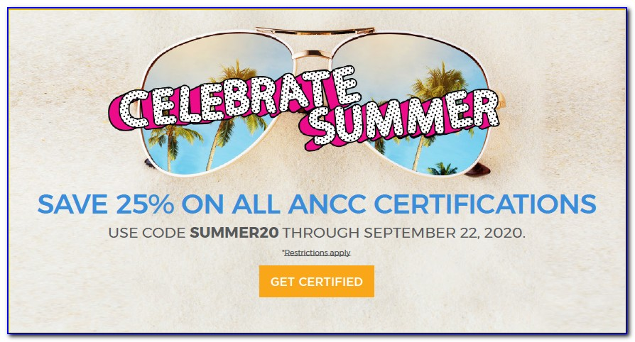 Ancc Certification Renewal Discount Code