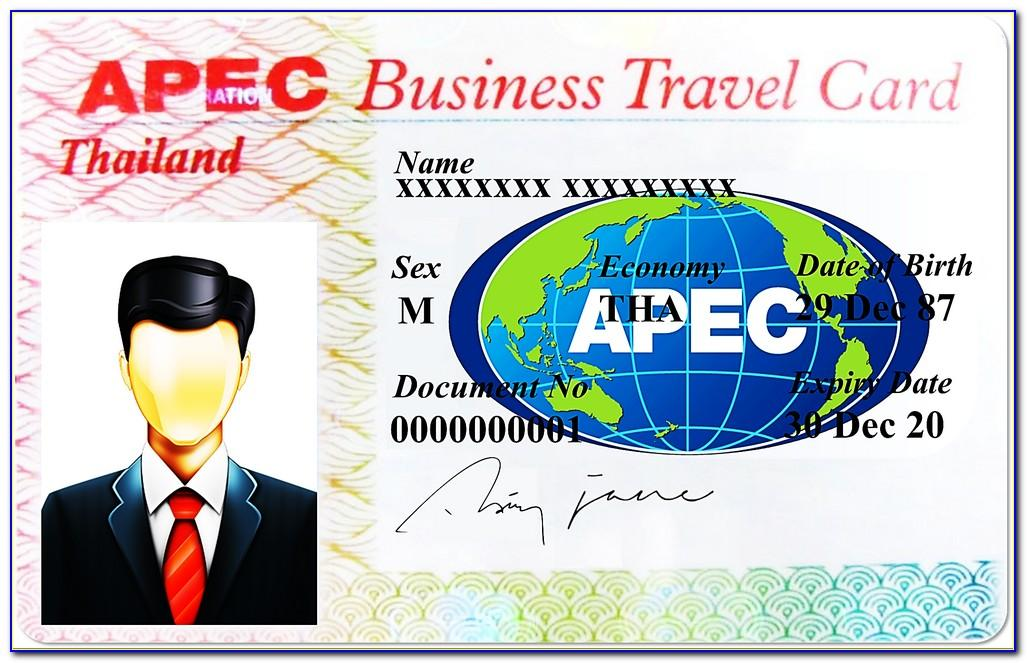 Apec Business Travel Card Indonesia