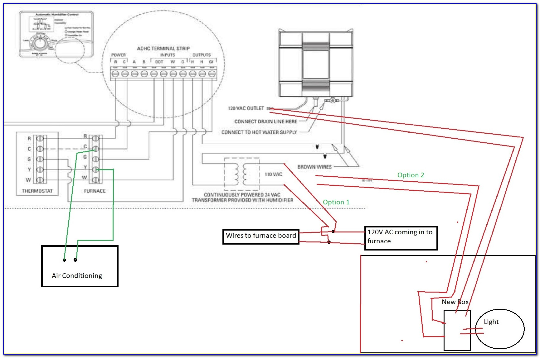 Aprilaire 600a Humidifier Wiring Diagram