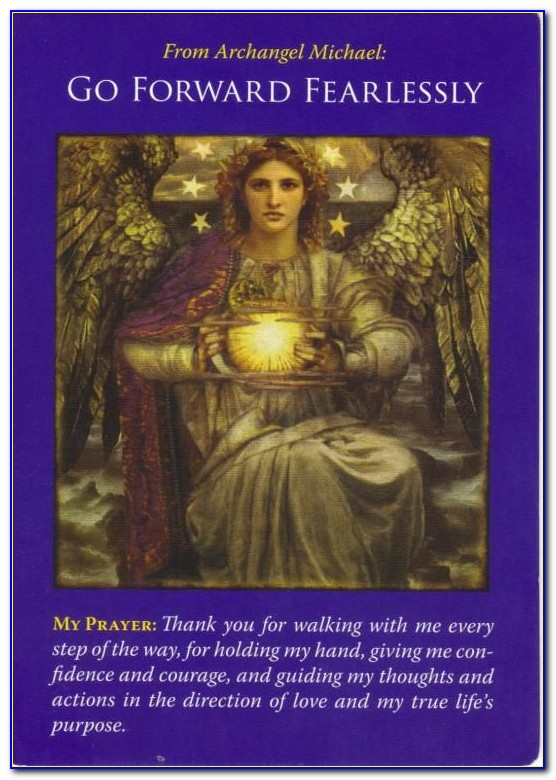 Archangel Michael Oracle Cards Free Reading
