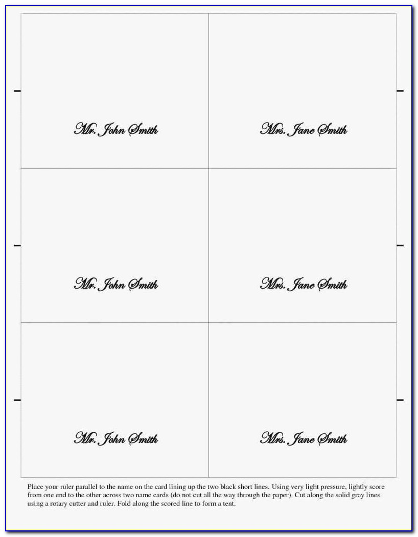 Avery Postcard Templates 5389 Lovely Avery Postcard Template 4 Per Sheet Or Food Place Cards Template