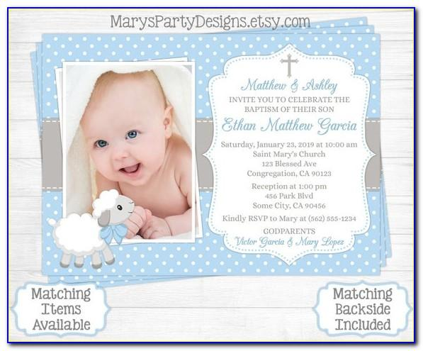 Baby Baptism Certificate Template