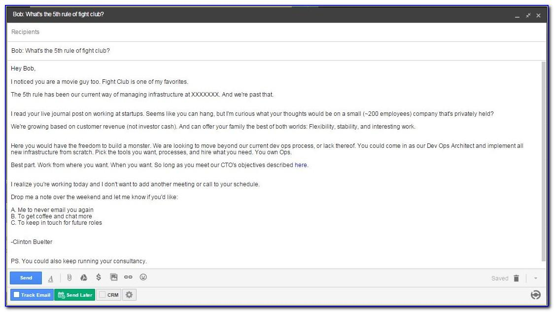 Best Cold Email Templates For Recruiters