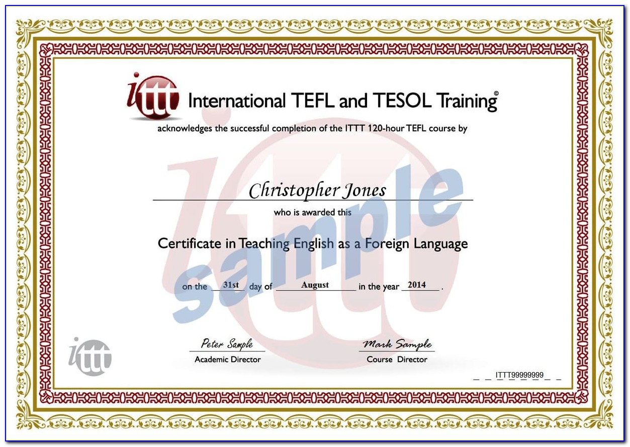 Best Tesol Certification Online Accredited