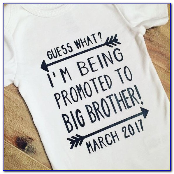 Big Brother Announcement Onesie
