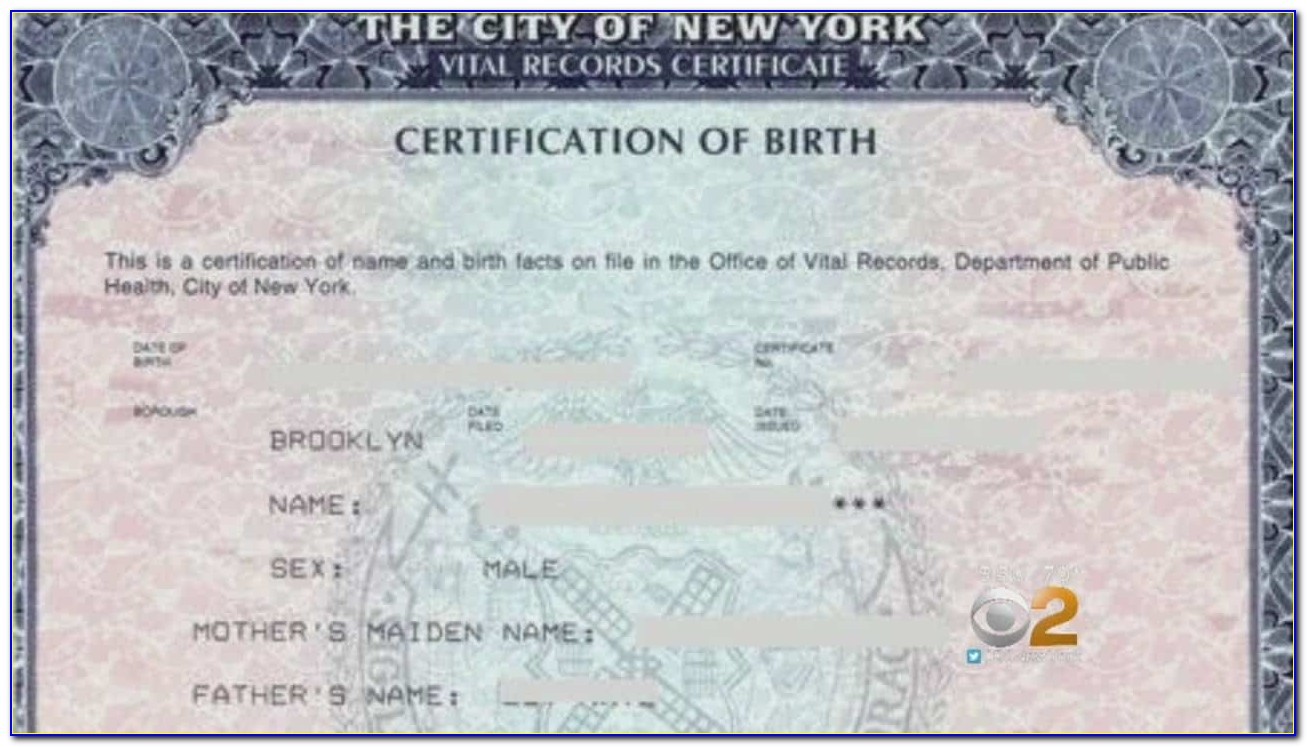 Birth Certificate Apostille New York City