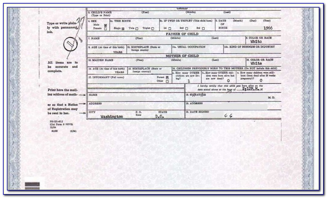 Birth Certificate Replacement Lubbock Tx