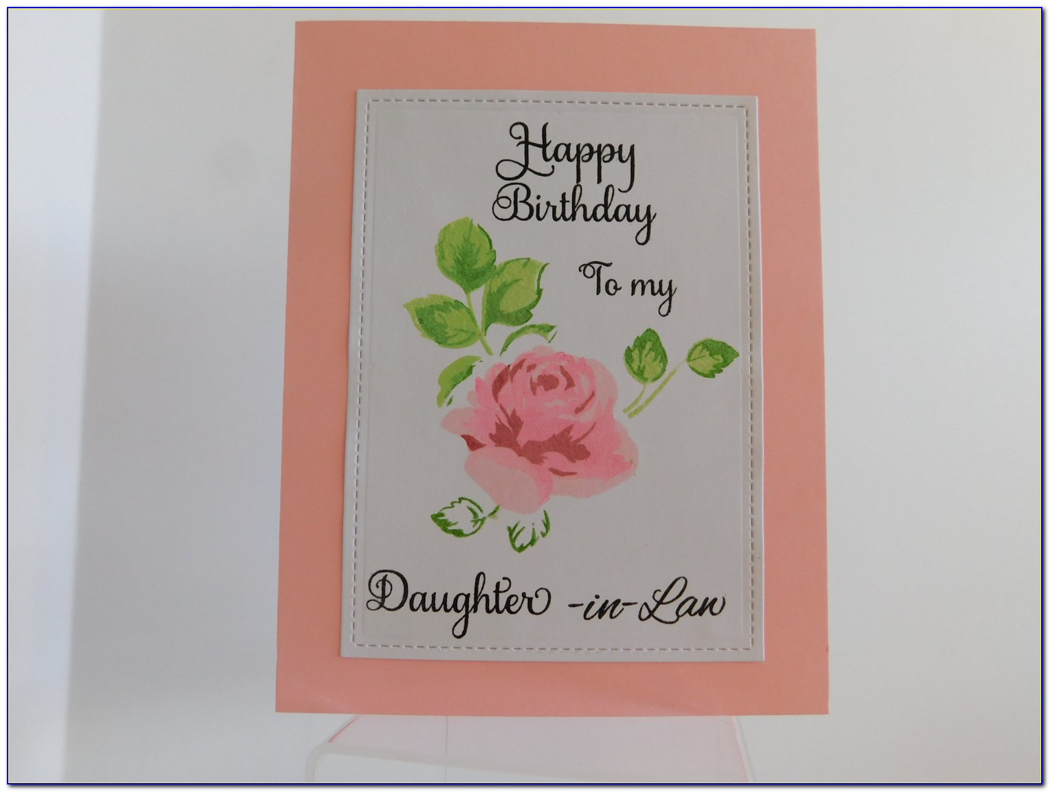 Birthday Invitation Card For My Daughter