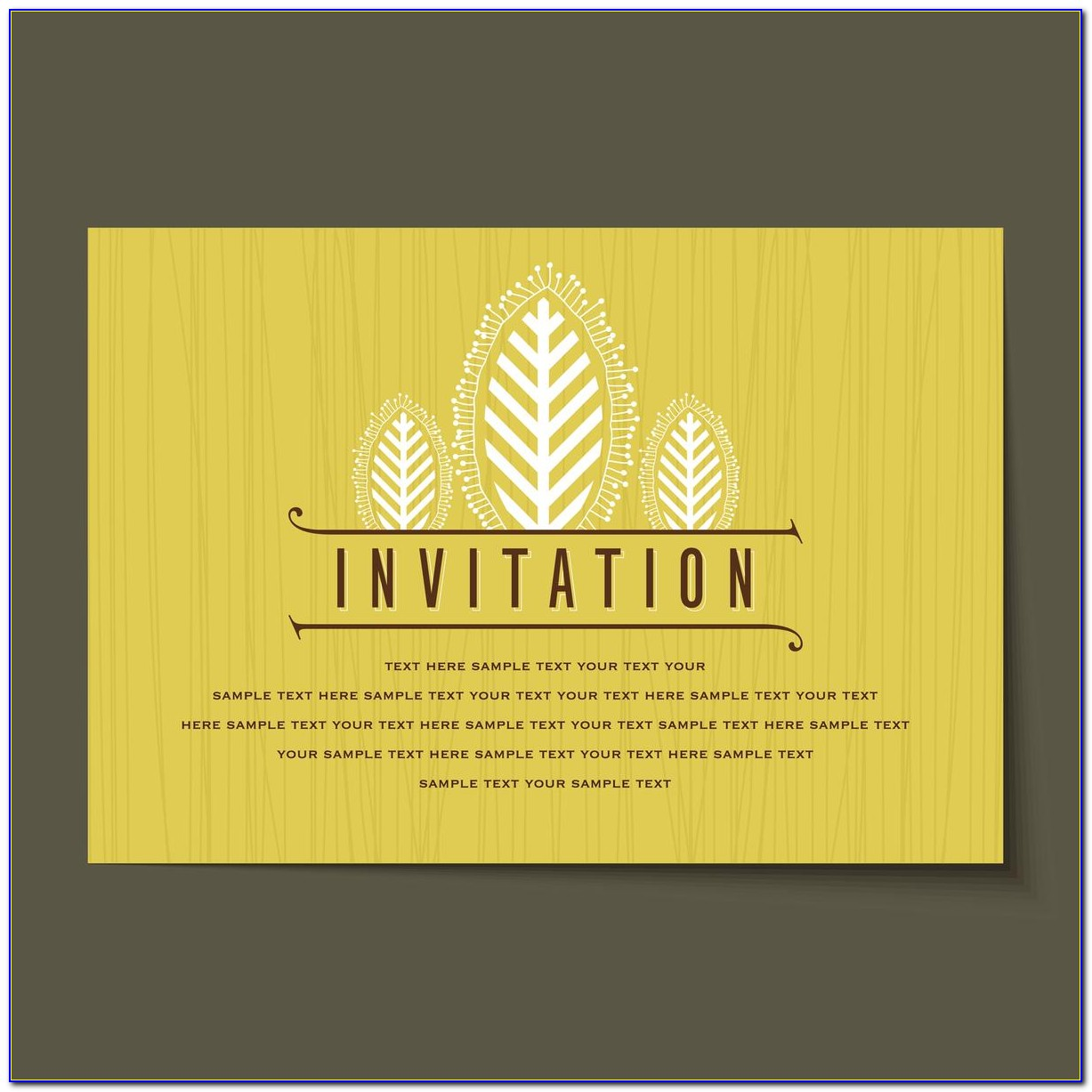 Birthday Invitation Text Message Sample