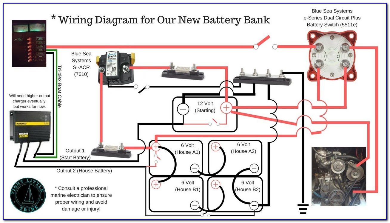 Blue Sea Battery Switch 6011 Wiring Diagram