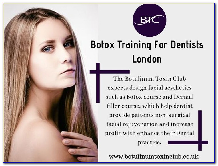 Botox Certification Courses For Dentist