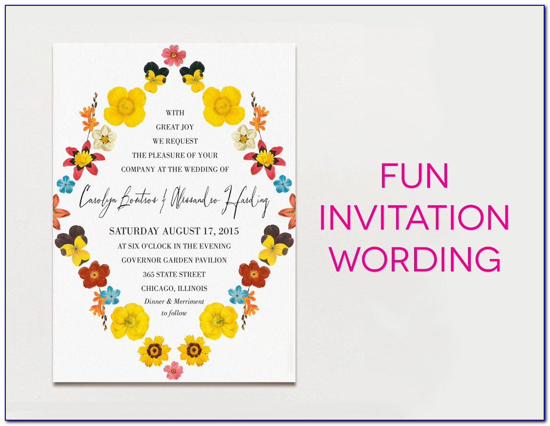 Business Invitation Text Message Sample