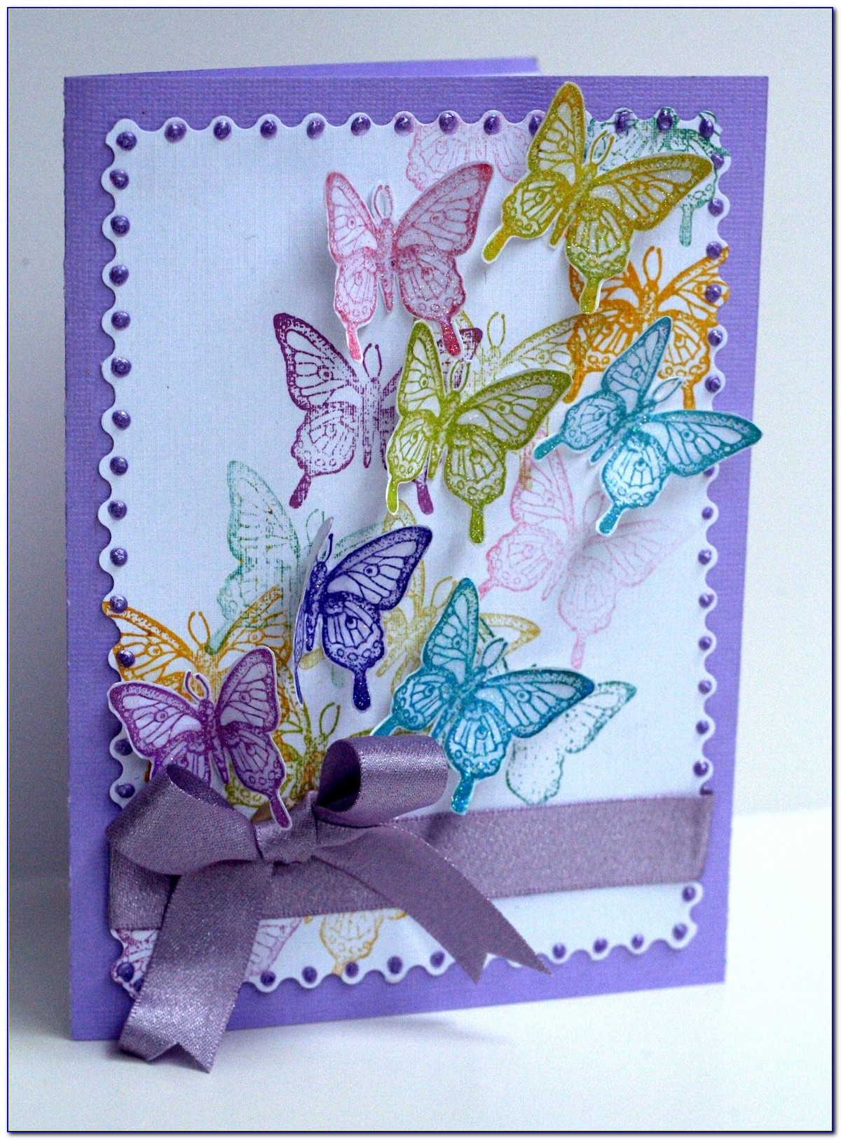 Butterfly Birthday Card Template