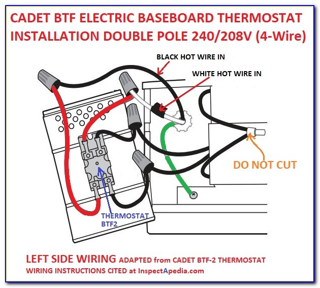 Cadet Electric Baseboard Heater Wiring Diagram