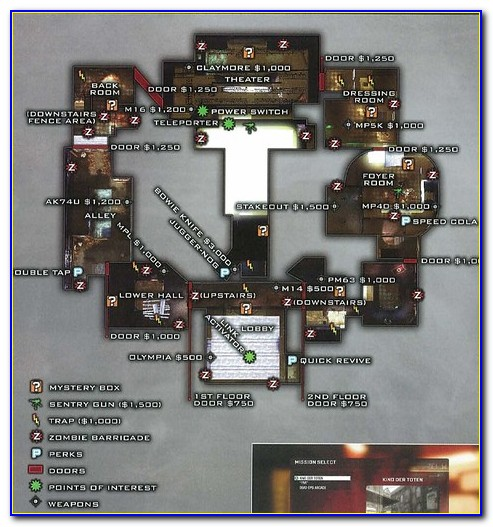 Call Of Duty Black Ops Zombies Maps In Order