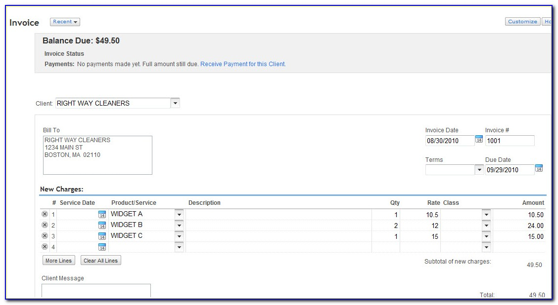 Can You Import Invoices Into Quickbooks Online