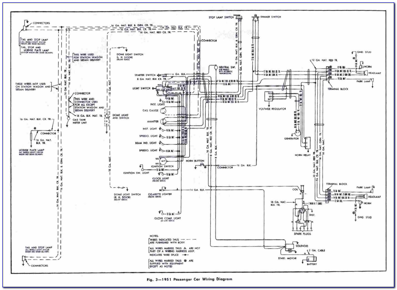 Car Wiring Diagram Horn