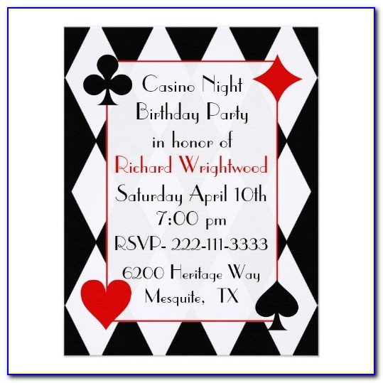 Casual Birthday Invitation Wording