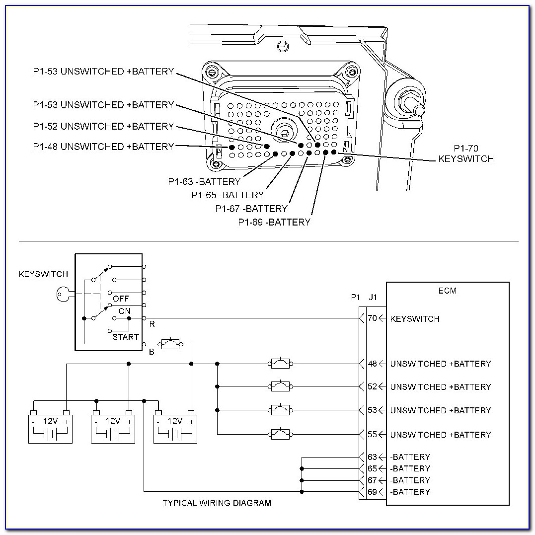 Cat 70 Pin Ecu Wiring Diagram