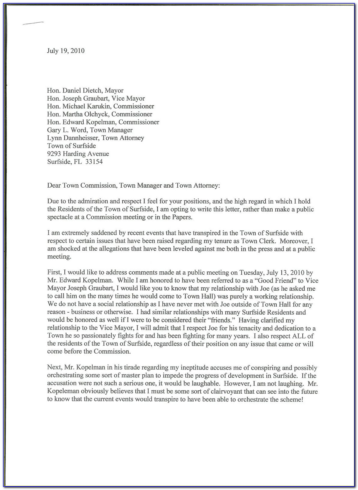 Cease And Desist Letter Harassment Template
