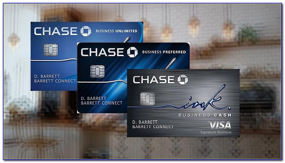 Chase Business Card Application