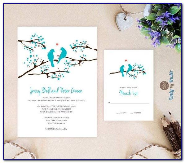 Cheapest Wedding Invitations With Rsvp Cards