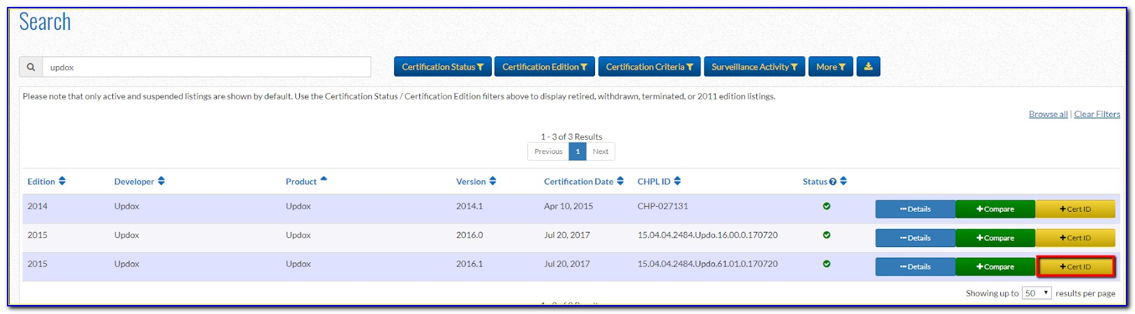 Cms Ehr Certification Id Number