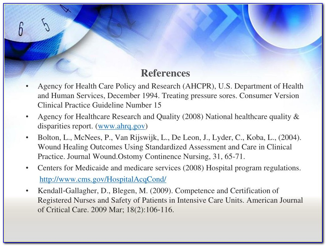 Wound Ostomy And Continence Certification Verification