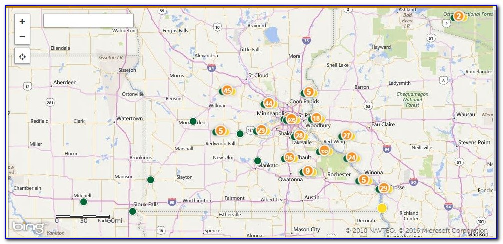Xcel Energy Outage Map Wisconsin