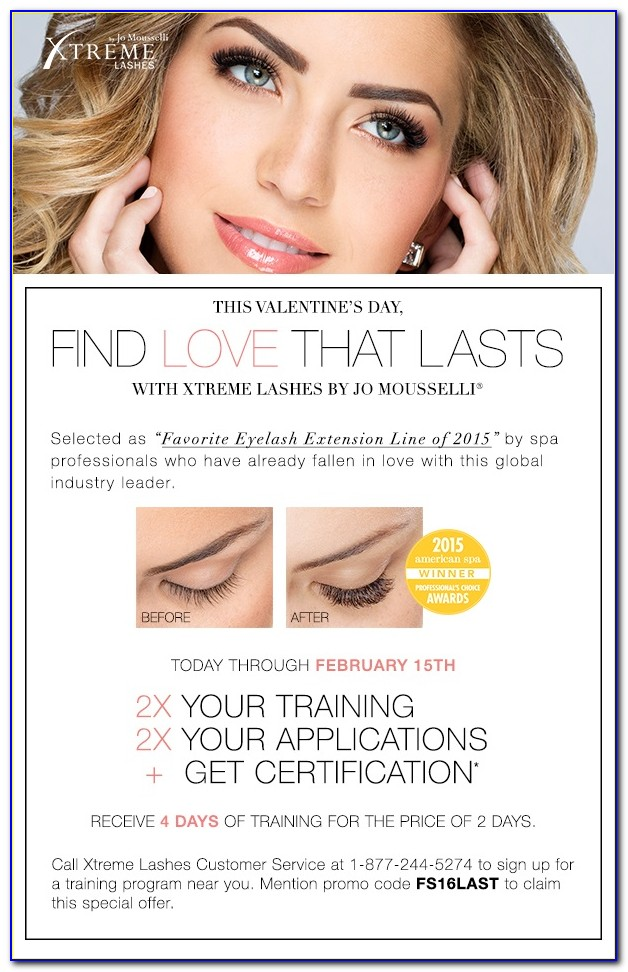 Xtreme Lashes Certification Cost