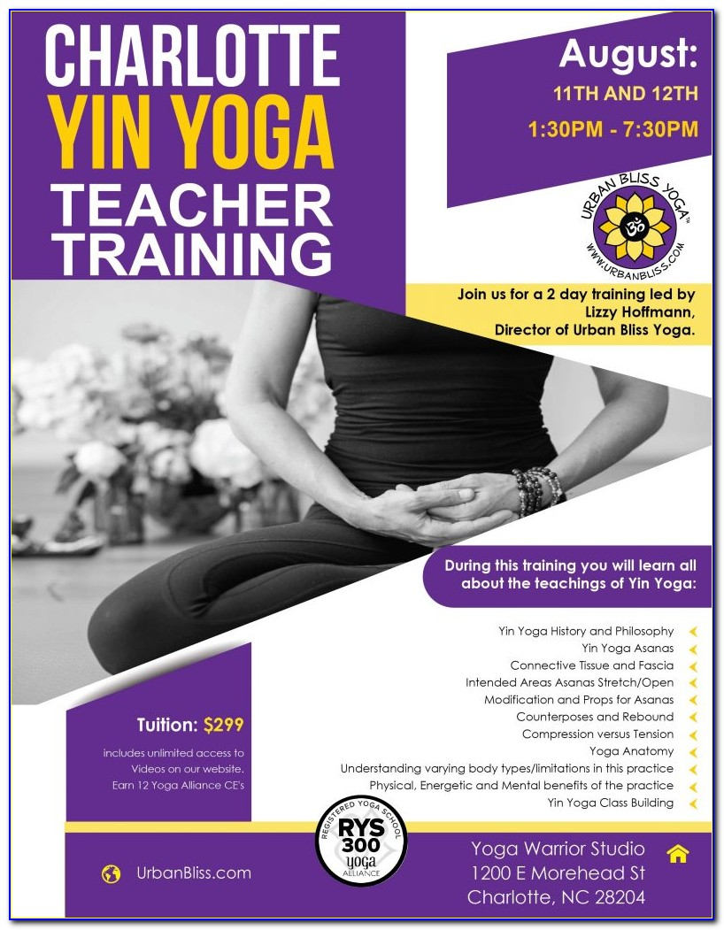 Yin Yoga Certification Nyc