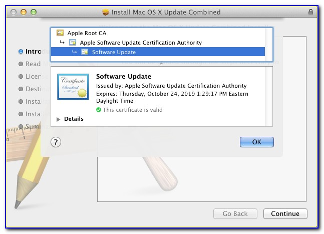 Comodo Root Certificate Not Trusted