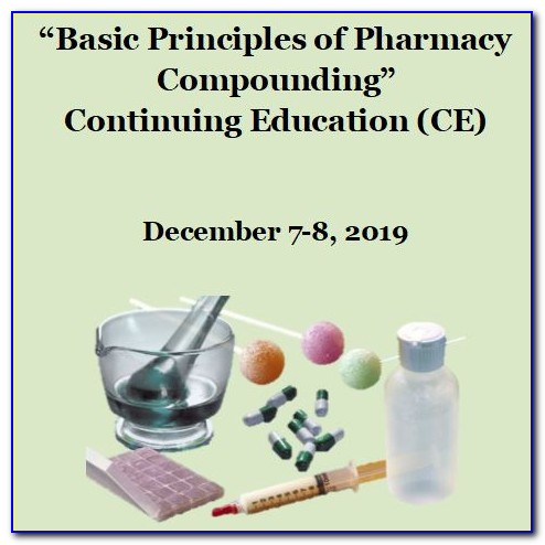 Compounding Certification For Pharmacists