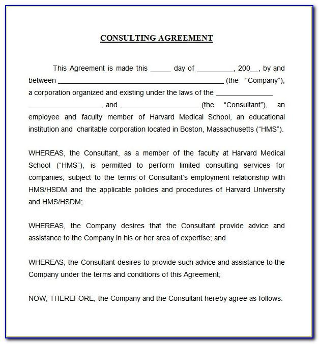 Consulting Contract Doc