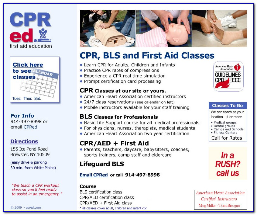 Cpr Aed Certification Vs Bls