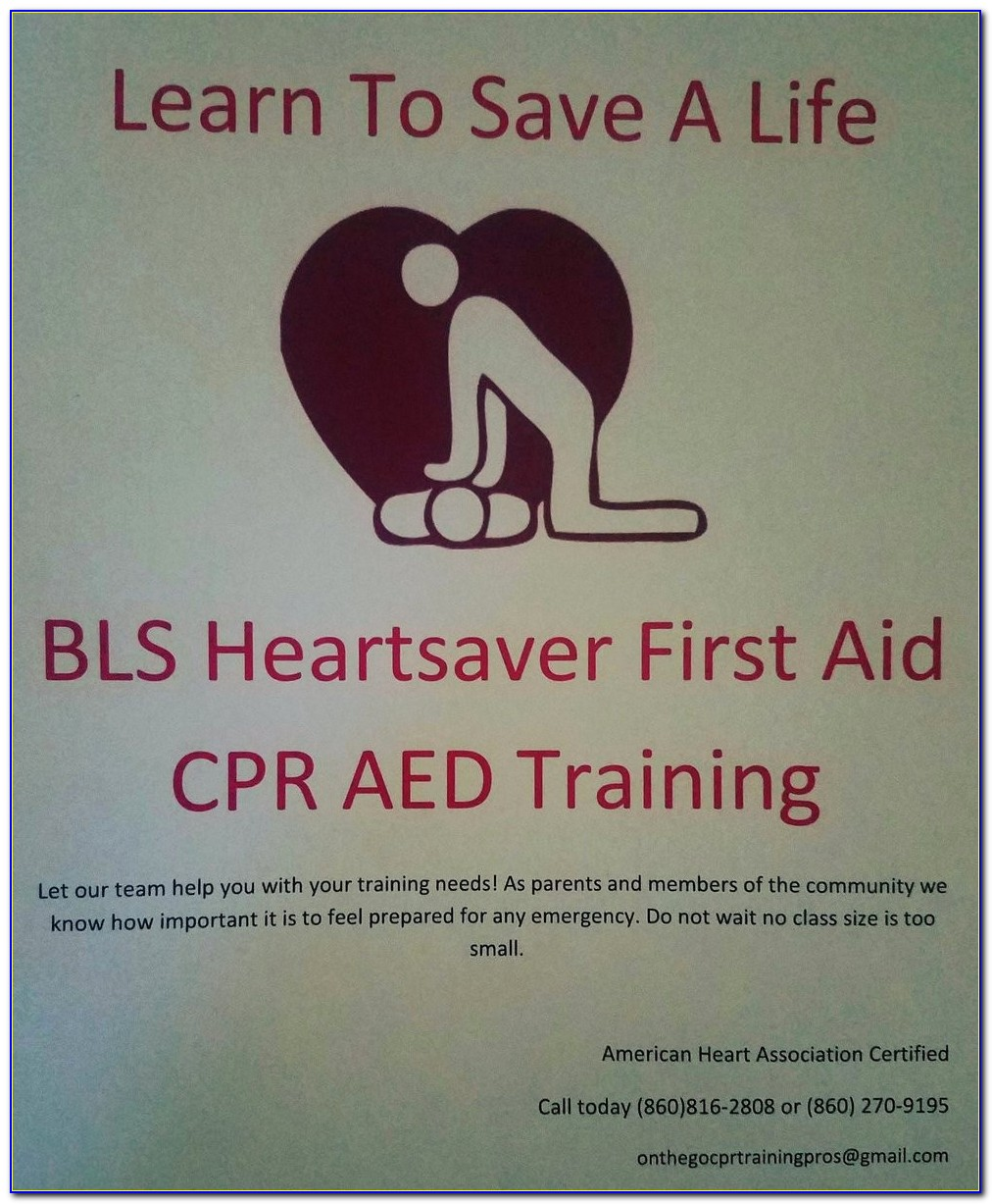 Cpr And First Aid Training Fresno Ca
