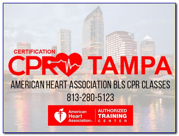 Cpr Certification Tampa Ymca