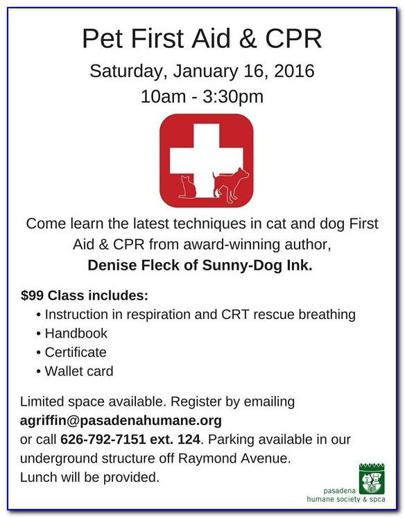 Cpr First Aid Certification Pasadena Ca