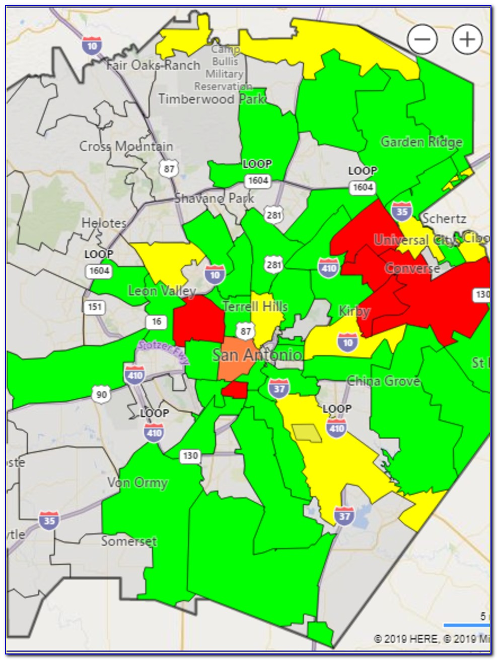 Cps Outage Map 78232