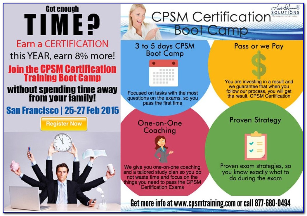 Cqm Certification Online Course