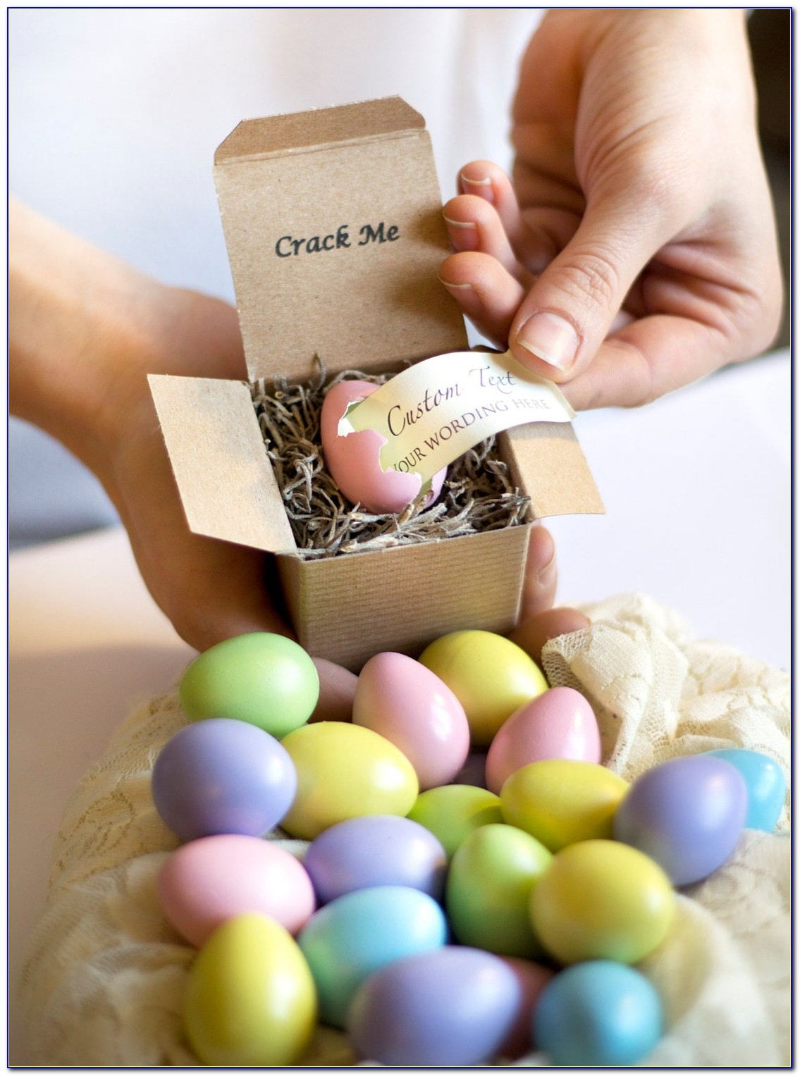 Cute Easter Baby Announcements