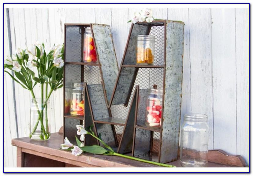 Decorative Metal Letters And Numbers