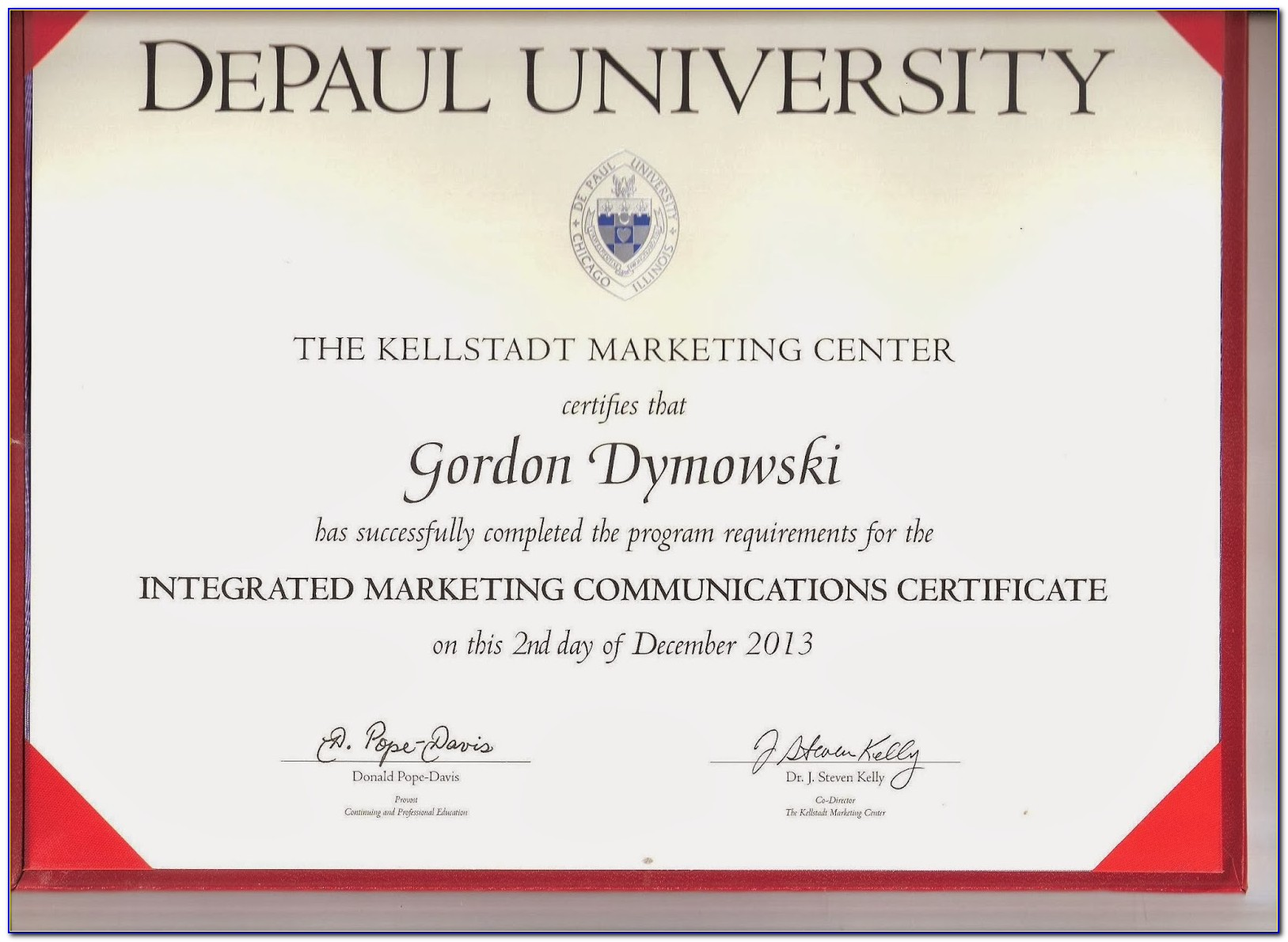 Depaul University Project Management Certificate Programs