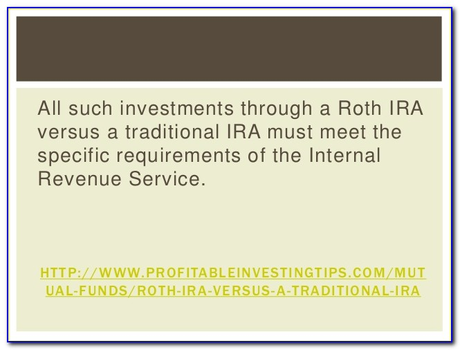 Difference Between Roth Ira And Certificate Of Deposit