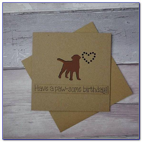 Dog Birthday Cards Images