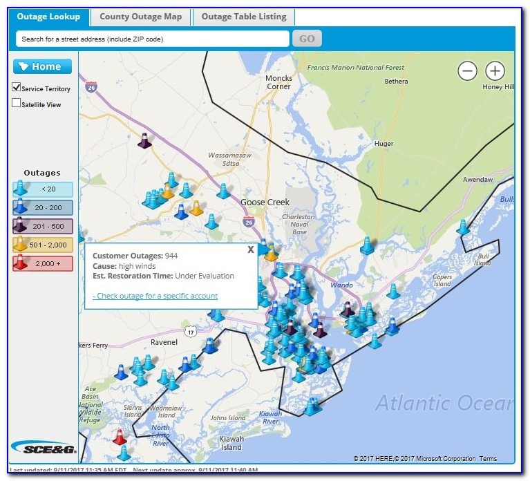 Dominion Power Outage Map Richmond
