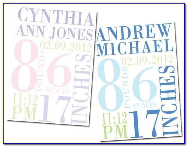 Download Baby Announcement Templates