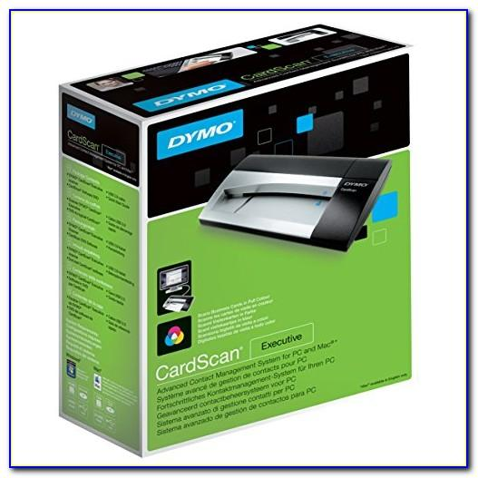 Dymo Business Card Scanner Software